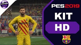 53cc978dd87 FC BARCELONA THIRD 2020 KIT | PES 2019 PS4 || MYSTERIO MODZ