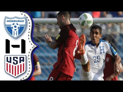 Honduras vs USA 1-1│Extended Highlights HD│Resumen Completo HD│Eliminatorias Rusia 2018.