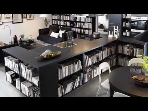 billy-bookcase-storage-ideas---ikea-home-tour