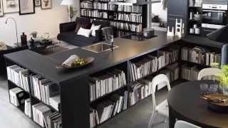 BILLY Bookcase Storage Ideas - IKEA Home Tour