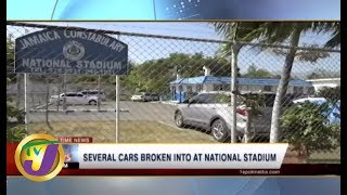 TVJ News Today: Cars Vandalized at National Stadium - June 20 2019