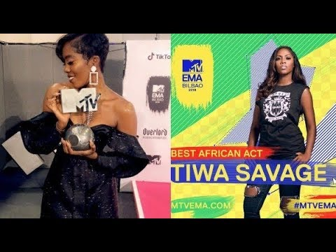 TIWA SAVAGE | MUSIC QUEEN DESERVES AS MANY 'ARTISTE OF THE YEAR' AWARDS AS WIZKID AND DAVIDO