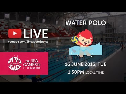 Waterpolo Men's Indonesia vs Singapore | 28th SEA Games Sing