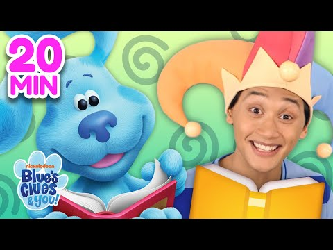 Josh & Blue Skidoo Into Books 📖 Compilation! | Blue's Clues & You!