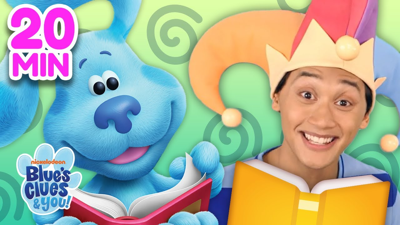 Download Josh & Blue Skidoo Into Books 📖 Compilation! | Blue's Clues & You!