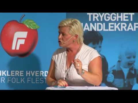Valgkampduell 6. august 2013: Siv Jensen og Jens Stoltenberg