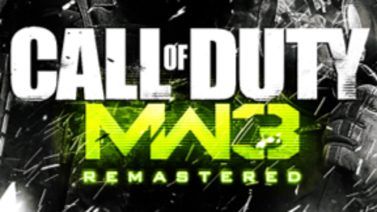 Call Of Duty Modern Warfare 3 Remastered Cod Mw3 Remastered