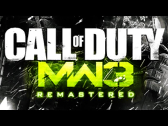 Call Of Duty Modern Warfare 3 Remaster Will Be Timed Ps4