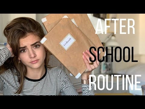 AFTER SCHOOL ROUTINE | R O S A L I E
