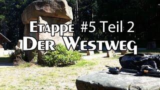 Der Westweg - Etappe #5 -2 Abenteuer im Schwarzwald | über die Alexanderschanze zur Teufelskanzel