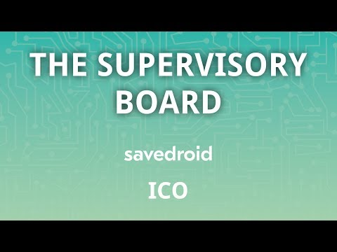 The Supervisory Board - savedroid ICO