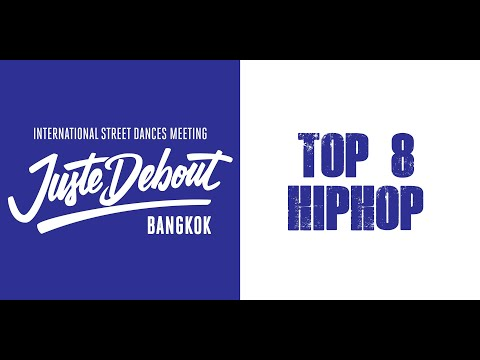 NASTYA, ANDREY Vs DEW SAKI, SMART | TOP 8 HIPHOP 2vs2 | JUSTE DEBOUT BANGKOK 2019