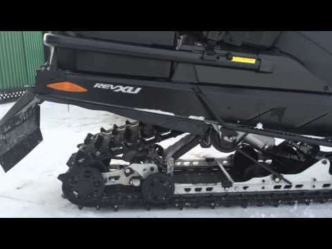 SkiDoo Expedition SE 1200 звук выхлопа и пневма