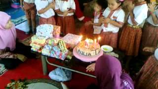 Aulia saadah ulang tahun yg ke 4