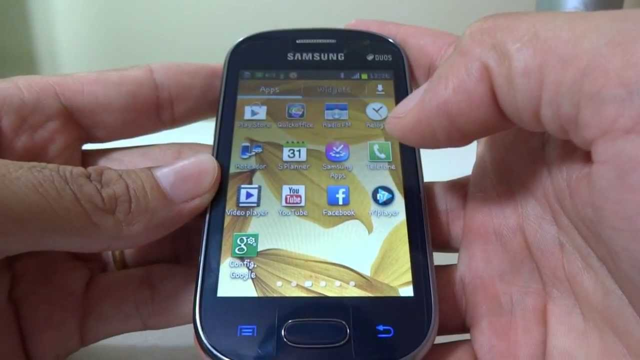 Samsung Galaxy Fame GT S6812 Mini Review YouTube