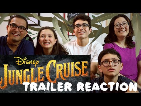 Disney's JUNGLE CRUISE - Official Trailer REACTION || MAJELIV FAMILY REVIEW