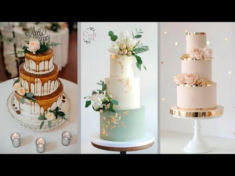Красивые свадебные торты. Фото идеи