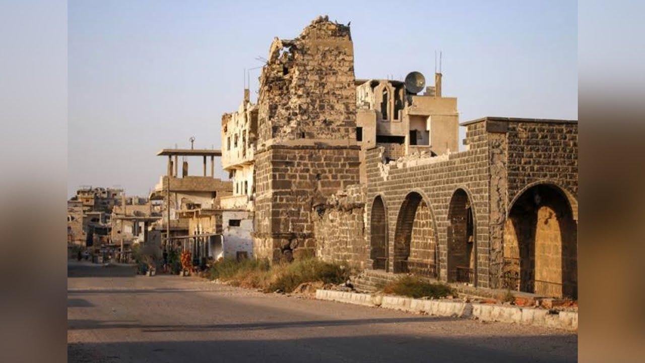 نظام أسد يستخدم الجامع العمري في درعا كرهينة.. فما الذي تبقى من -التسويات-؟ | هنا سوريا