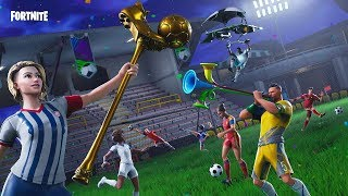 🔴 FORTNITE ITA NEW WORLD SKIN DE CALCIO!!! NOUVEAU EMOTE To WORLD TEMA!!!