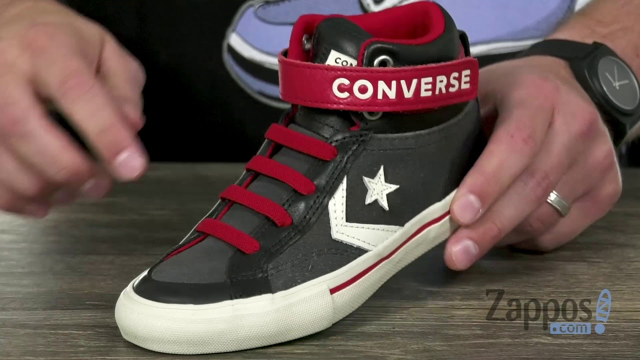 0a70444b4eb7 Converse Kids Pro Blaze Strap - Hi (Little Kid Big Kid) SKU  9065954 ...