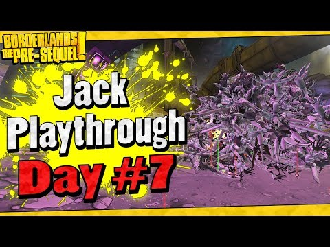 Borderlands The Pre-Sequel | Jack Playthrough Funny Moments And Drops | Day #7