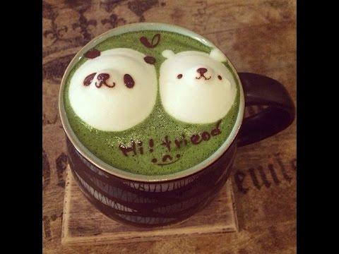 Bài 9 : [Barista Skills] Học cách pha chế Latte Matcha đơn giản (Matcha trà xanh)