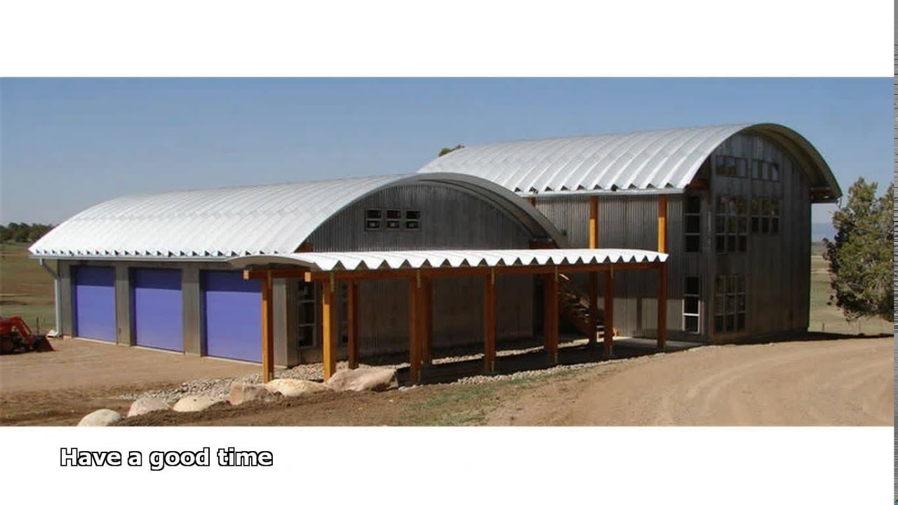 Cheap steel buildings youtube for Cheap barn style homes