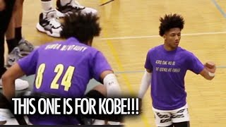 Mikey Williams GOES ALL OUT DEDICATES Game To Kobe Bryant & Gianna Bryant