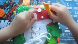 развивающий кубик своими руками  1