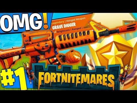 *NEW* GRAVE DIGGER?! HALLOWEEN GUNS IN FORTNITE!! Fortnite: Save The World