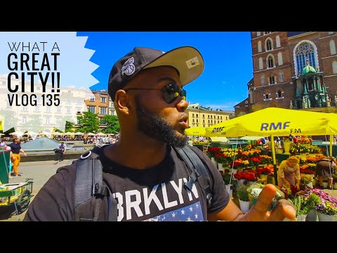 "Eating so much in KRAKOW, POLAND!! Vlog 135  ""How I book my reservations when I travel"""