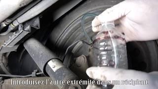 Comment purger le liquide de frein avec la pression de sa roue de secours