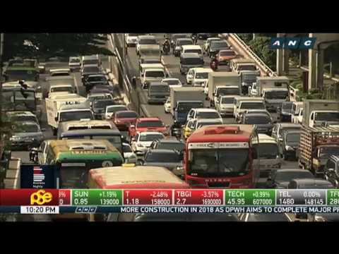 DPWH: Metro Manila traffic may get worse in 2018