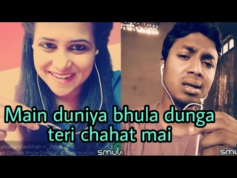 Main duniya bhula dunga teri chahat mai (Ashiqui). My karaoke 86.
