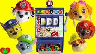 Paw Patrol M&M's Candy Vending Machine Magical Surprises