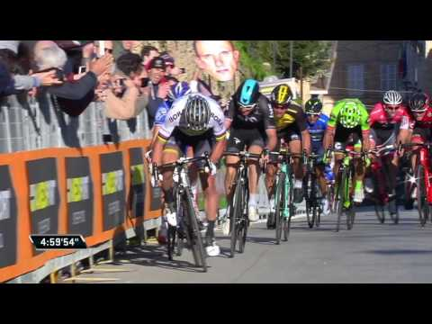 Tirreno-Adriatico 2017: Stage 5 highlights
