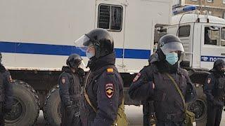 Протест Новосибирск 23 Января
