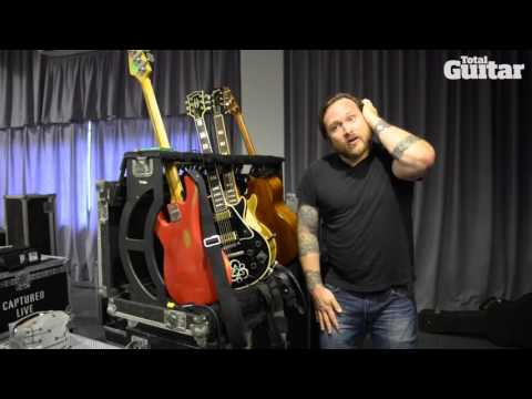Coheed And Cambria live guitars interview w/ Travis Stever and Claudio Sanchez