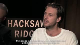 """Entrevista con  Vince Vaughn & Luke Bracey de la película """"Hacksaw Ridge"""""""