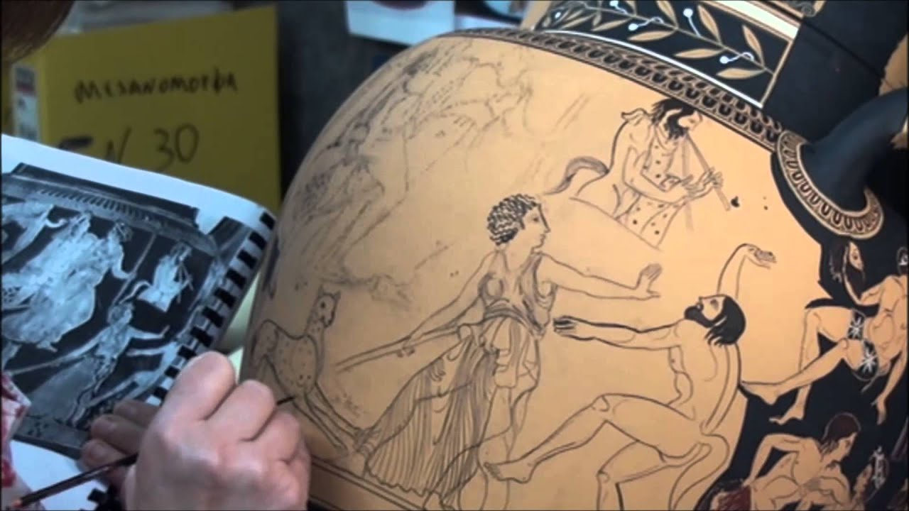 Pronomos painter red figure pottery youtube floridaeventfo Image collections