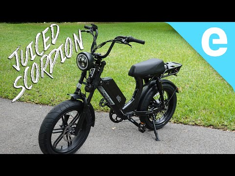 Juiced Scorpion Review: An Affordable Electric Moped!