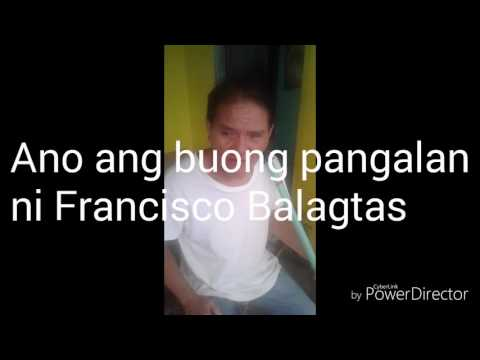 Interview tungkol kay Francisco Balagtas at sa Florante at Laura