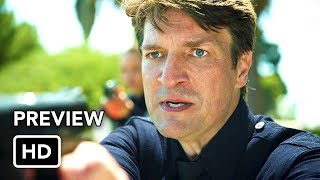 The Rookie (ABC) First Look Preview HD - Nathan Fillion series