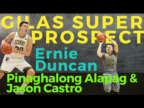 Gilas Super Prospect: Ernie Duncan | Pinaghalong Alapag at Castro na Combo Guard