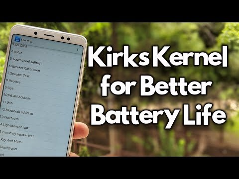 Kirks Kernel for GOOD BATTERY Life - Redmi Note 5 Pro - YouTube