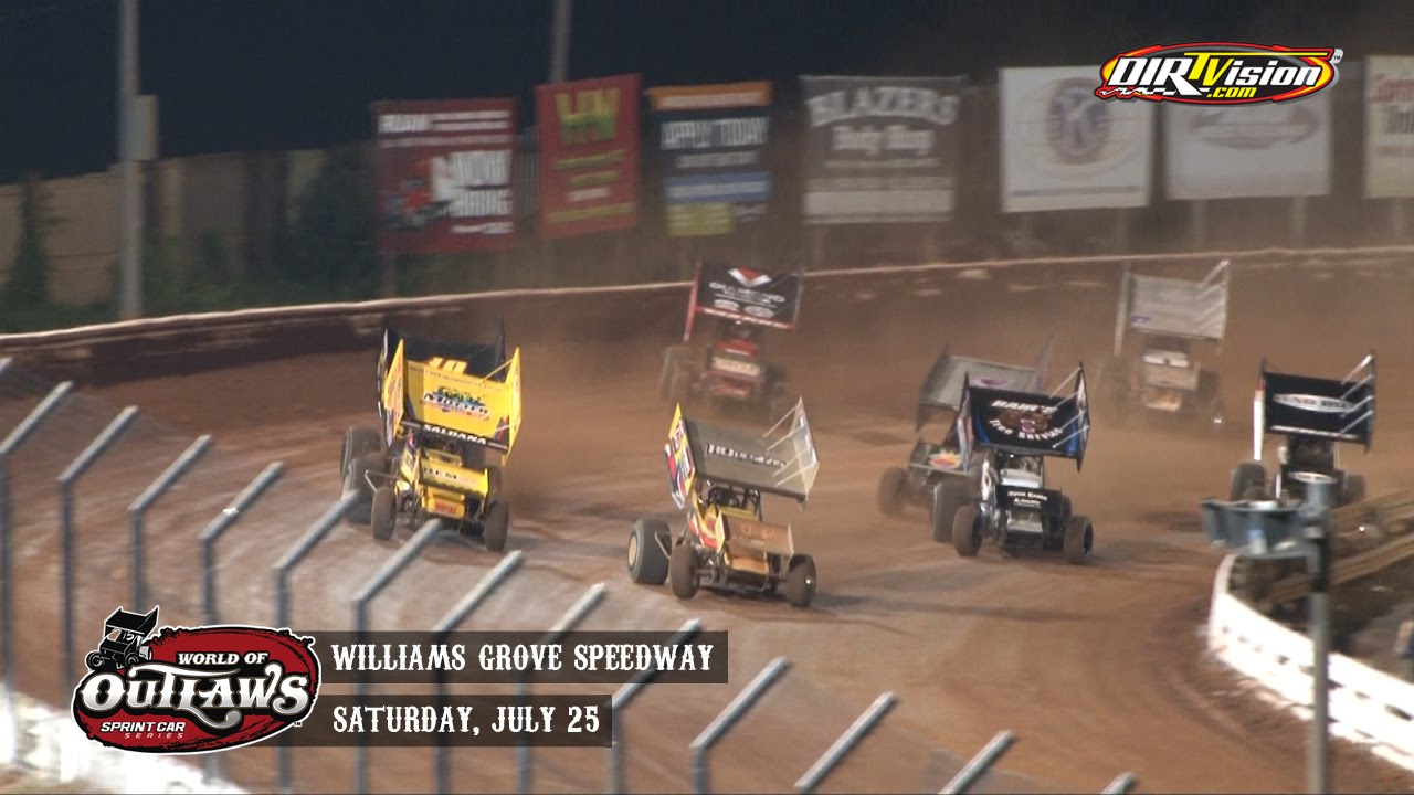 World Of Outlaws Sprint Car Race Results