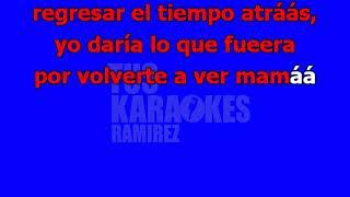 Karaoke Como Te Extraño Mamá Grupo Shantaje