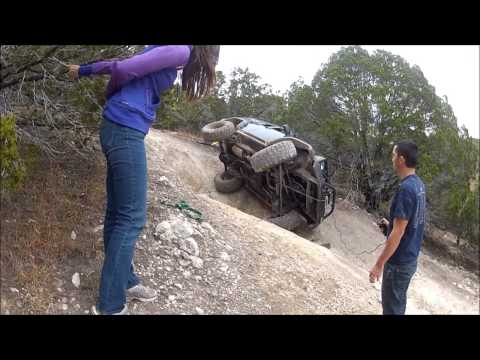 Girls Roll Jeep Cherokee XJ with solo recovery