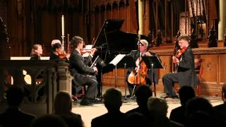 "Ciompi Quartet performs ""At the Still Point"" by Chris Theofinidis at Duke Chapel"