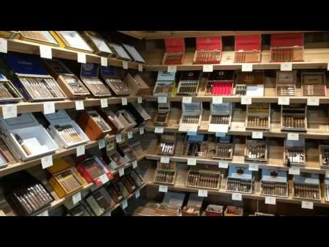 Tour Canada's BEST Cigar Store
